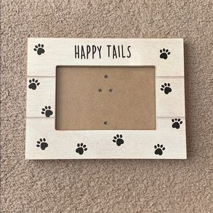 """Other - """"Happy tails"""" Dog picture frame"""